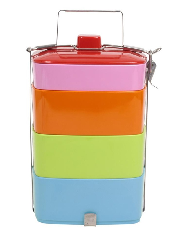 Rice melamine lunch box. (trying to eliminate plastics...but this is gorgeous.)