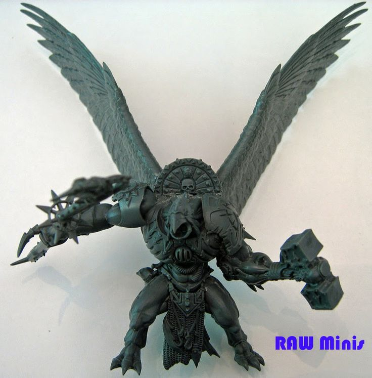 Spikey Bits Warhammer 40k, Fantasy, Conversions and Painted Miniatures: Power Of Tzeentch! Daemon Prince Conversion