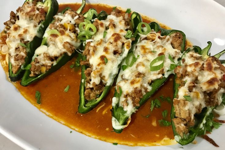 Image result for stuffed peppers with ground turkey