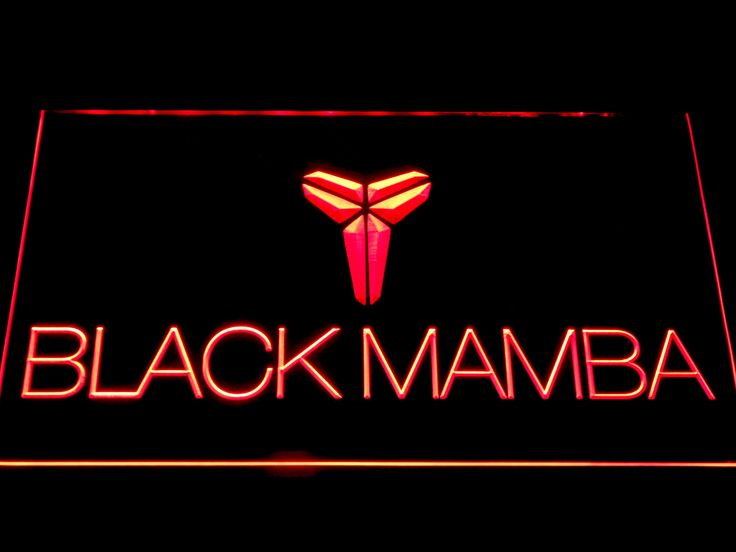 Los Angeles Lakers Kobe Bryant Black Mamba Logo LED Neon Sign-Tap The link Now For More Information on Unlimited Roadside Assistance for Less Than $1 Per Day! Get Over $150,000 in benefits!
