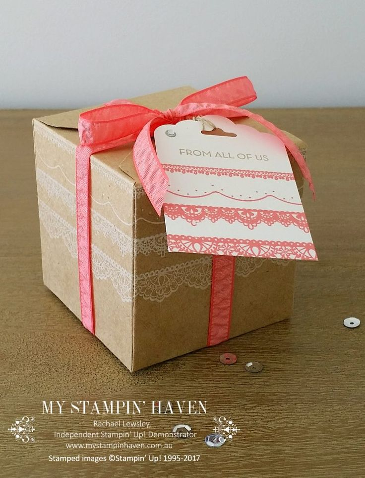 Delicate Details, So Very Much giftbox #StampinUp #MyStampinHaven #ESADbloghop #SAB2017 #OCC2017