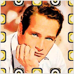 Paul Newman - Quadrinhos confeccionados em Azulejo no tamanho 15x15 cm.Tem um ganchinho no verso para fixar na parede. Inspirados em atores de cinema. Para entrar em contato conosco, acesse: www.babadocerto.com.br