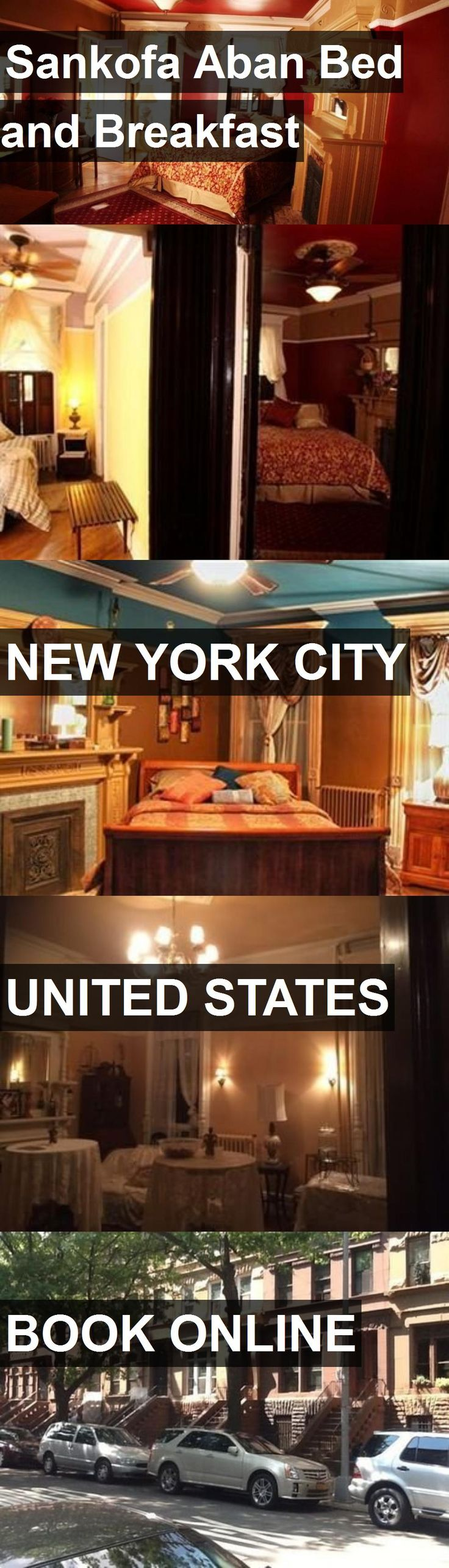 Hotel Sankofa Aban Bed and Breakfast in New York City
