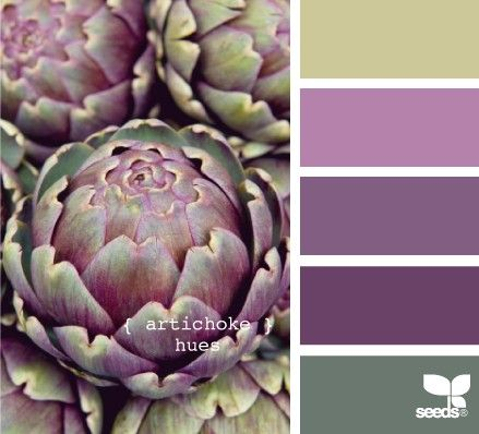Artichokes hues for a paint scheme, beautiful!