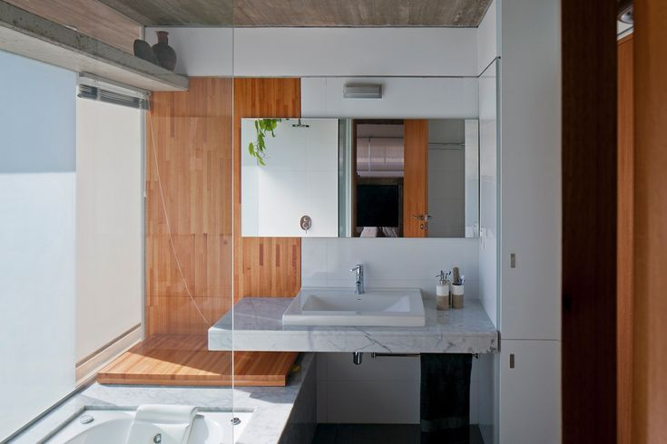 No Uruguai, casa aproveita ruínas para erguer fachada metálica com plantas