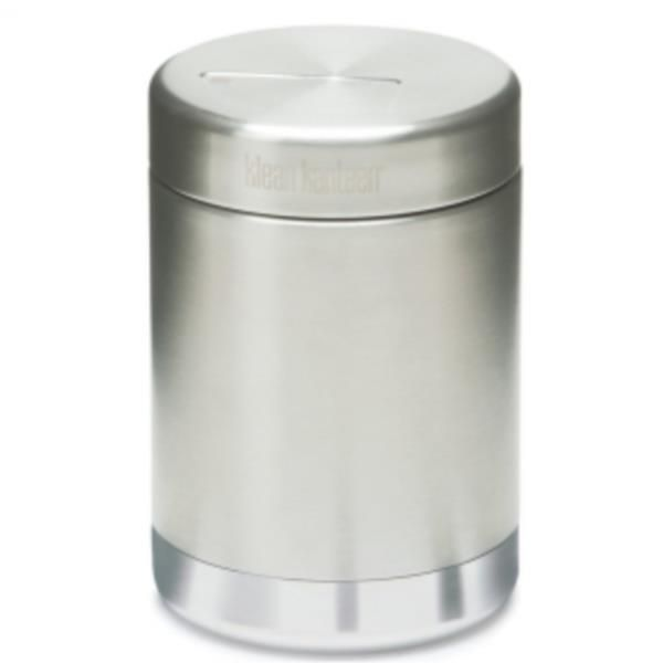 Klean Kanteen Insulated Stainless Steel Food Jar 473ml.  The next phase of our revolution is serious food transport for school, work, and play. Bulk ready Klean Kanteen® Food Canisters replace a lifetime of throw-away plastic/paper containers and bags. Better still, our vacuum insulated canisters can keep things toasty warm or icy cold en route. $44.95