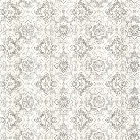 Amazing Tendilla Light Grey Lattice. Contemporary WallpaperBedroom ...