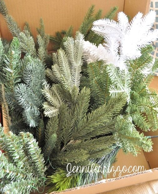 How to choose a real-looking artificial Christmas tree with the Balsam Hill branch sampler kit - Jennifer Rizzo