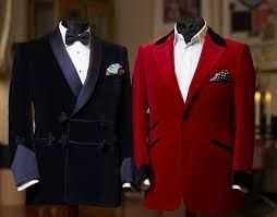 Image result for blue velvet dinner jacket