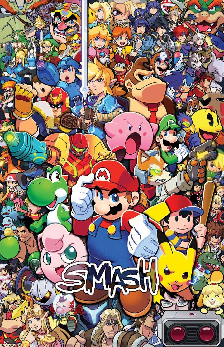 The Ultimate Smash By Https Www Deviantart Com Herms85 On Deviantart Smash Bros Super Smash Ultimate Super Smash Bros Brawl