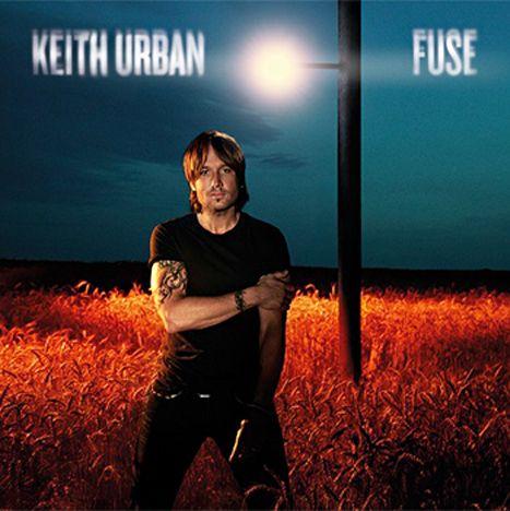 Keith Urban's Fuse album cover.
