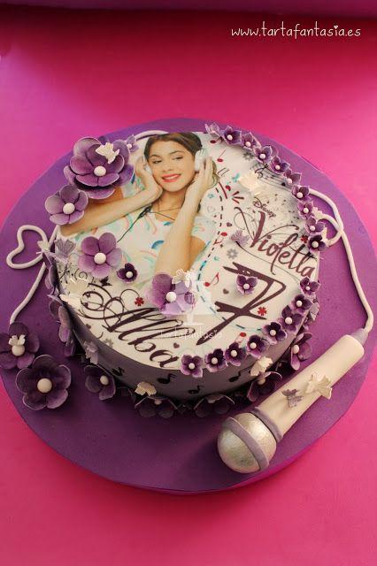 TartaFantasía: Tarta Violetta para Alba