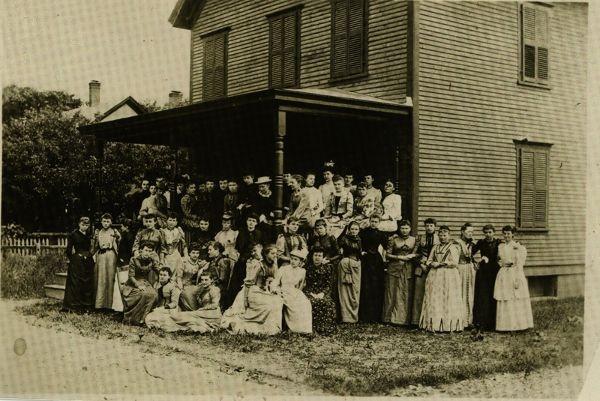 Kappa Alpha Theta 11th Convention, 1891, Burlington, Vt. #theta1870