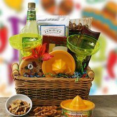 Margarita Gift Basket Gift basket Ideas #giftbasketideas #giftbaskets