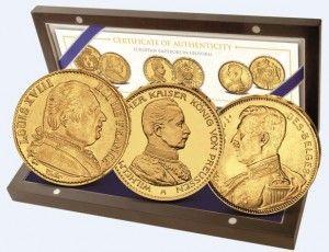 Skarbnica Narodowa europejscy władcy monety