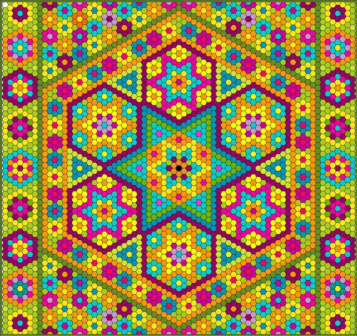Quilting Templates Hexagon : 402 best hexagonos images on Pinterest Imagination, Quilt patterns and Geometric designs