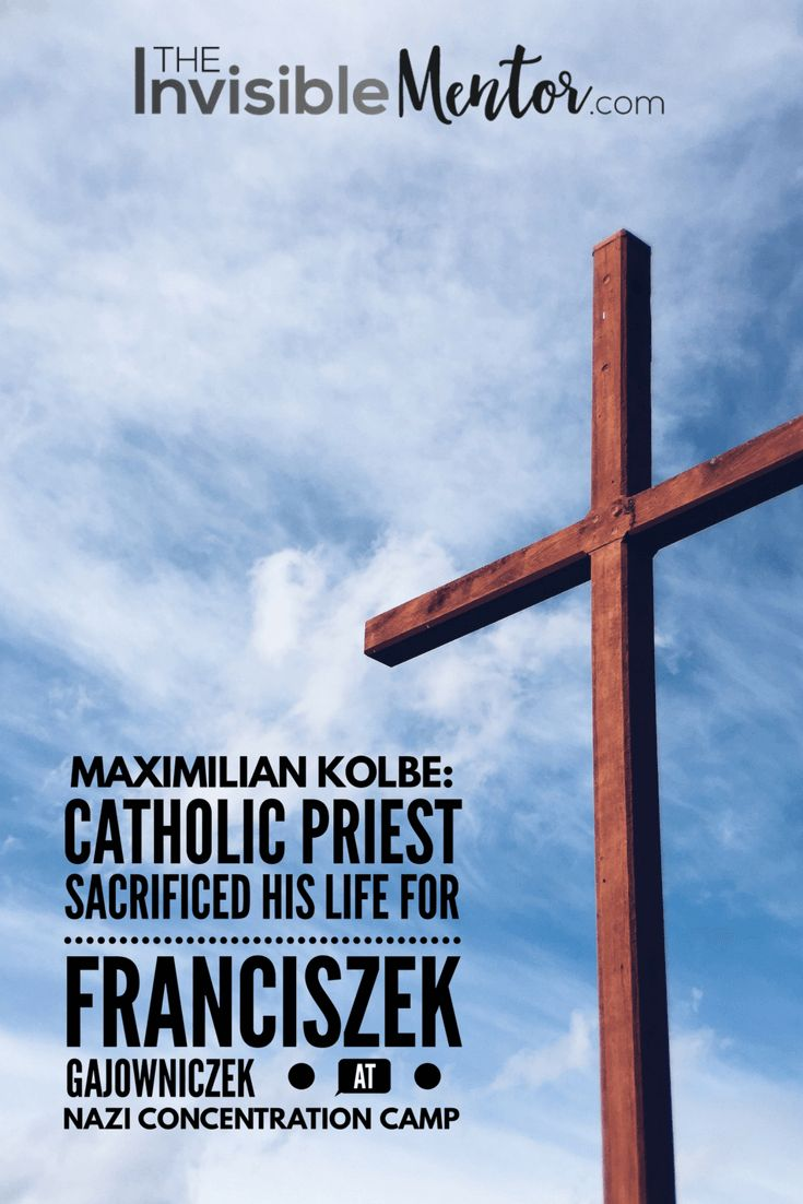 Would you sacrifice your life for another? That's exactly what Catholic priest, Maximilian Kolbe did. When he was in a Nazi concentration camp, Kolbe announced that he would die in place of Franciszek Gajowniczek, who had a wife and children. Visit my website to read my mini biography of this incredible man, Maximilian Kolbe: Catholic Priest Sacrificed his Life for Franciszek Gajowniczek at Nazi Concentration Camp. It is important to allow history to unfold through the eyes of others.
