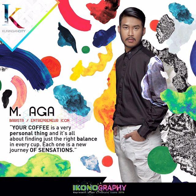 M. Aga Barista/Entrepreneur Icon  Ikonography 2016