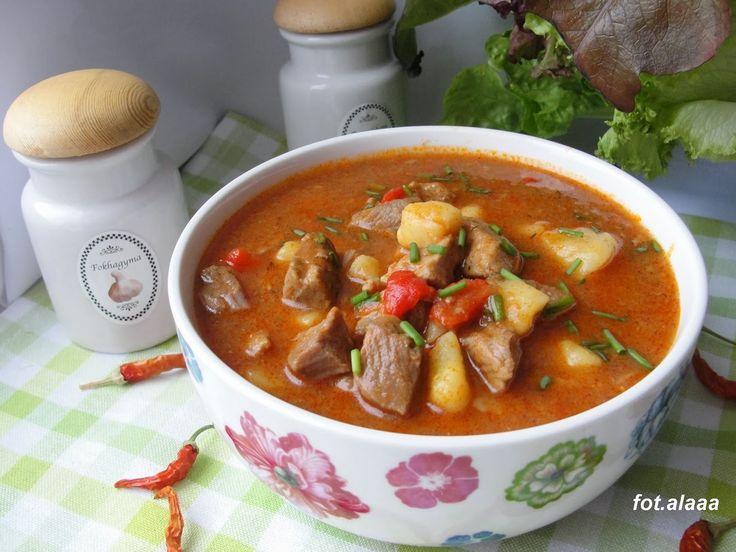 Ala piecze i gotuje: Zupa gulaszowa