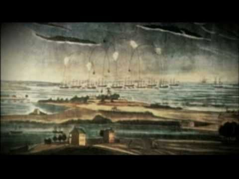 War of 1812 and History of the Star Spangled Banner (7 min. 45 sec. long)