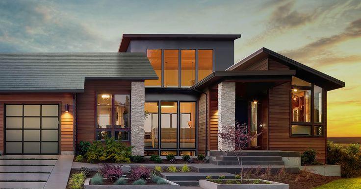 Tesla präsentiert in Dachziegel integrierte Solarmodule als Teil seines Energiekonzeptes. Die Idee ist bei weitem nicht neu – könnte aber der Technologie zum Durchbruch verhelfen.