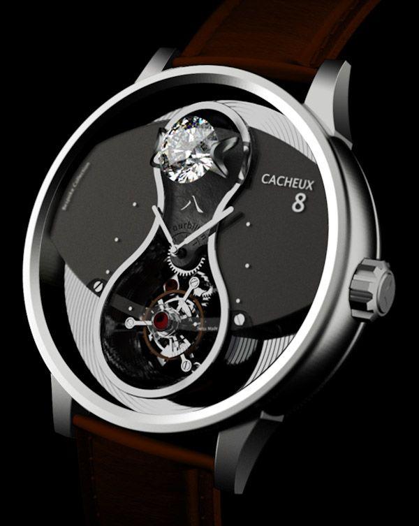 Cacheux 8 Wrist Watch
