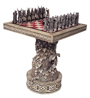 The Arthurian Chess Set