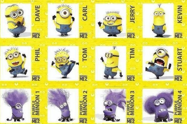 despicable me 2 character list - Google Search