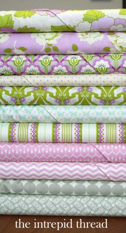 Pink and Dove Fat Quarter Bundle by Heather Bailey