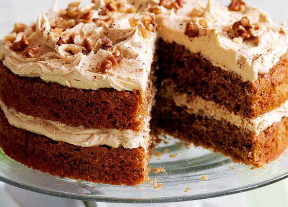 Slimming World Coffee And Walnut Cake