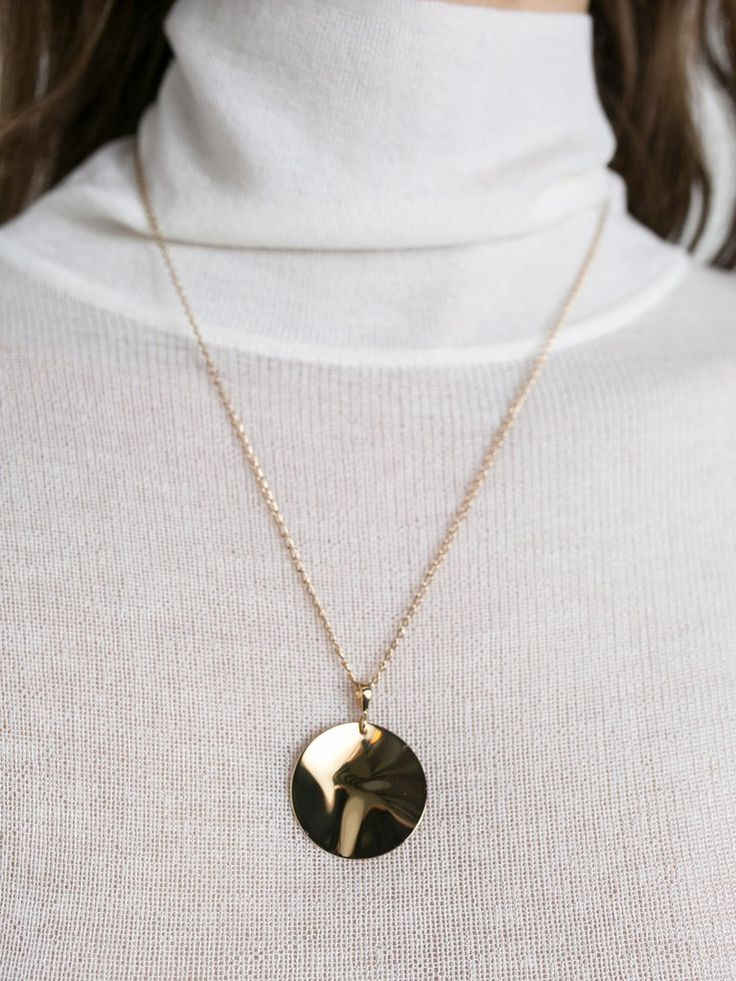 HOLLY RYAN | Wavee Necklace 18k Gold Plated | The UNDONE by Holly Ryan