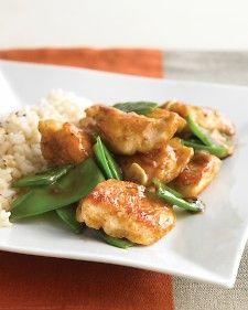 Lighter Gen Tso's Chicken