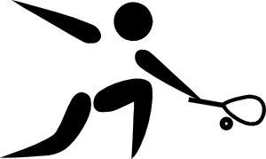 Olympic Sports Squash Pictogram Clip Art at Clker.com - vector clip art online, royalty free & public domain