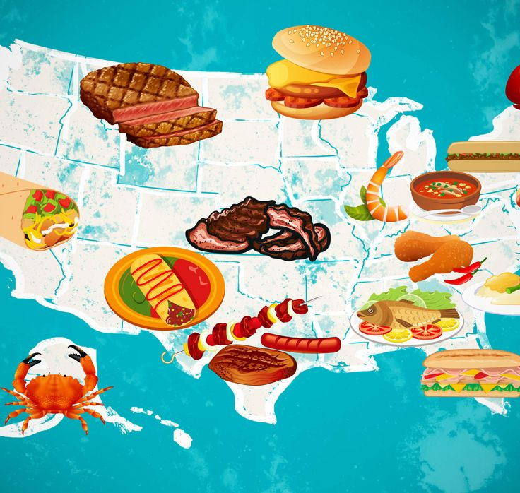 Best food in every state