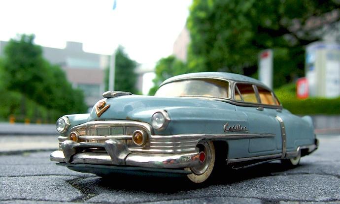 1950s マルサン製 KOSUGE キャデラック グレー 外箱付き