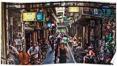 Degraves St Melbourne, Australia