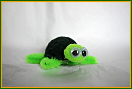 Turtle Craft for Kids - Walnut Turtle Friends!