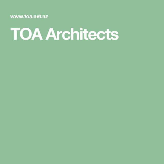 TOA Architects