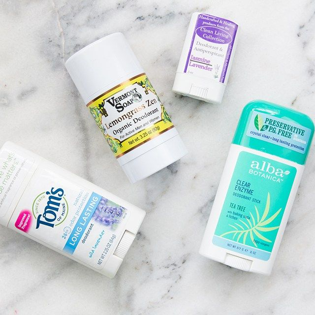 Best and worst natural deodorants