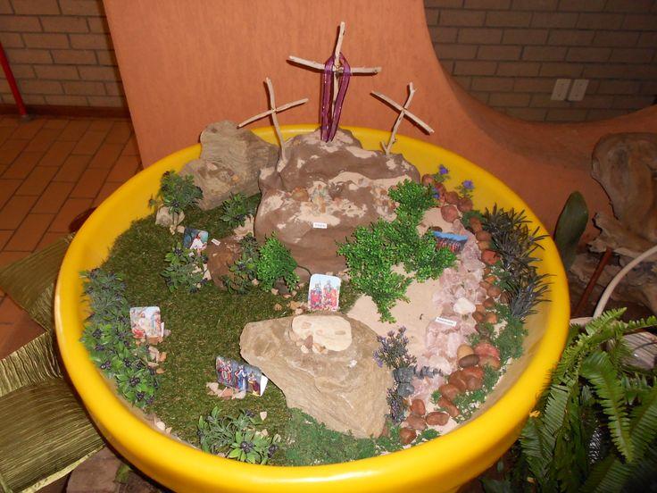 Golgota, Kedronvallei en Getsemane