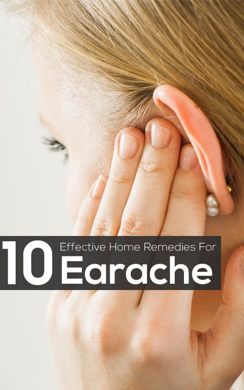 10 Effective Home Remedies For Earache