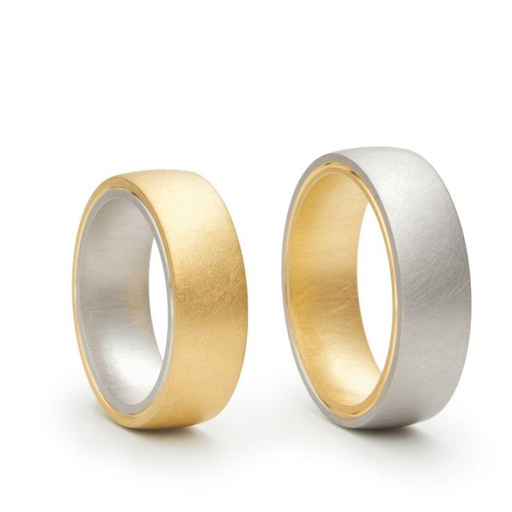Niessing - Tango - Wedding Rings - ORRO Contemporary Jewellery Glasgow - Modern Contemporary Gold & Platinum Wedding Rings at ORRO Glasgow Scotland