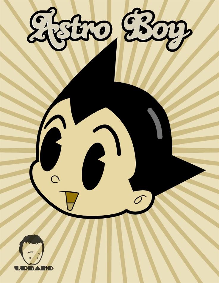 Astro boy retro poster by MrUrbano.deviantart.com on @deviantART
