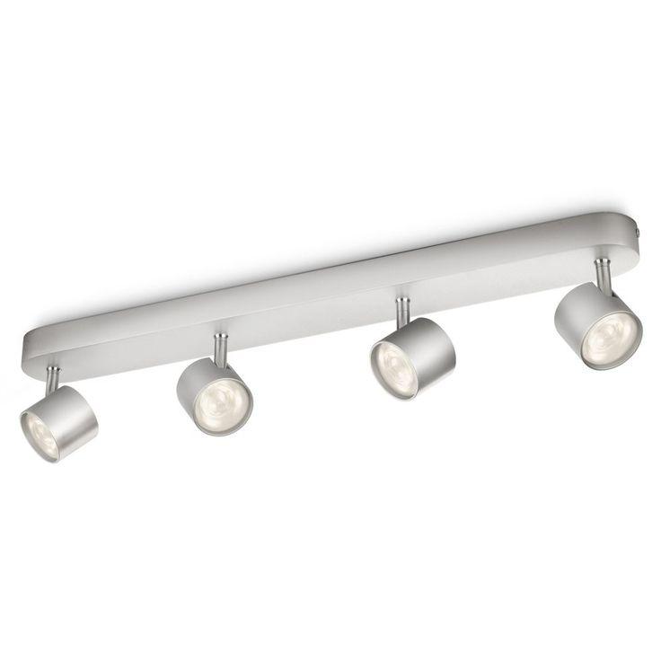 Met de myLiving Star Bar Spot breng je mooie lichtaccenten aan in huis. De energiebesparende LED-technologie zorgt voor mooi warm licht. De spotjes van deze Philips lamp kun je draaien en kantelen zodat alle hoeken mooi uitgelicht kunnen worden.