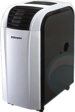Dimplex DC10RC 3kW Portable Reverse Cycle Air Conditioner Front View