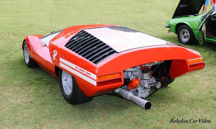 1969 Fiat Abarth 2000 Scorpione Coupè Pininfarina