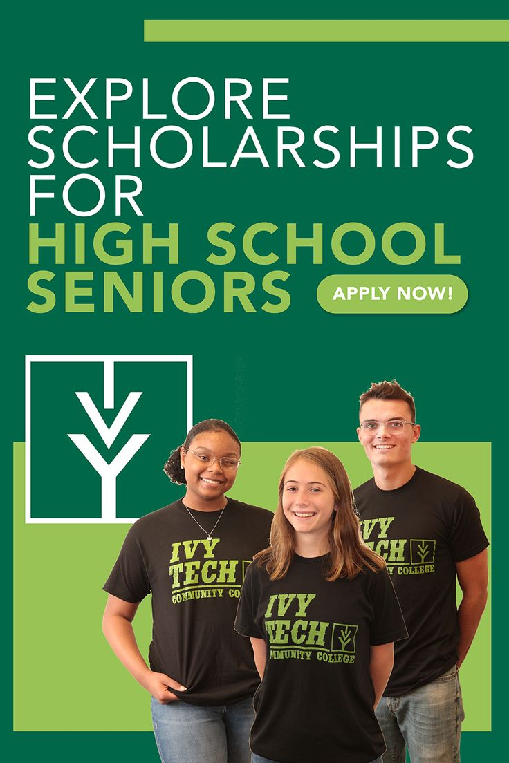 Ivy Tech offers scholarships exclusively for high school