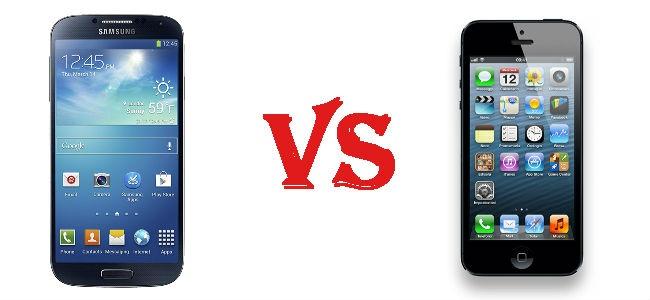 Galaxy S4 Vs iPhone 5: chi vince fra questi due smartphone a confronto