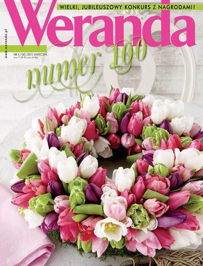 Okładka magazynu Weranda 4/2011 www.weranda.pl