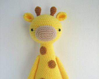Amigurumi Giraffe Haken : 25+ beste idee?n over Giraf patroon op Pinterest ...